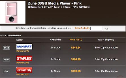 zune.net buy page