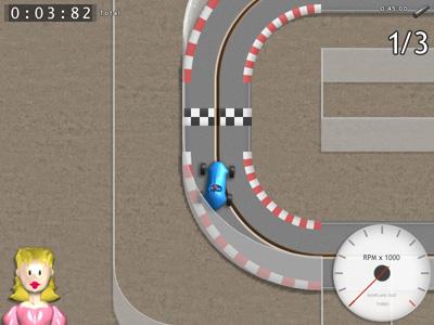 Racing Pitch game screenshot