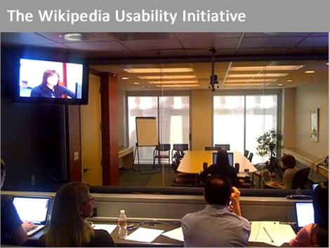 The wikipedia usability initiative