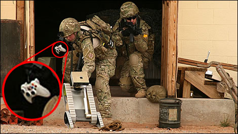 More Xbox Controllers In The Millitary Image Credit Popular Mechanics