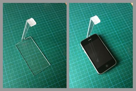 iPhone Usability Testing Sled